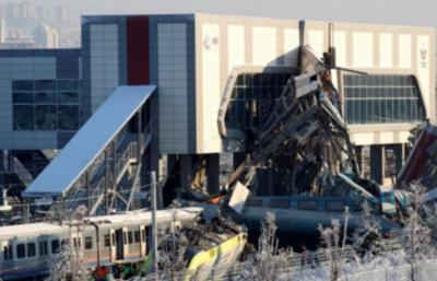 Accidente de tren en Ankara deja nueve muertos y 47 heridos