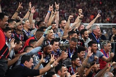 Atlético Paranaense se corona en la Sudamericana