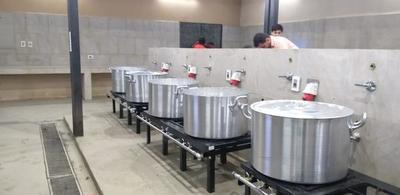 Habilitan cocina industrial en Tacumbú para dignificar alimentación de internos