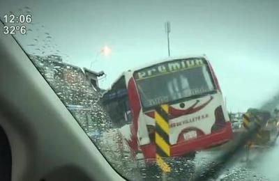 Fuerte tormenta hizo estragos en Asunción y alrededores