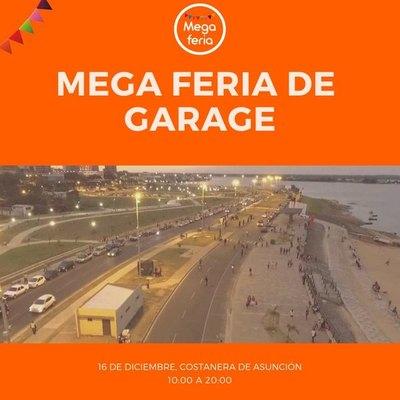 Mega Feria de Garage, en la Costanera de Asunción