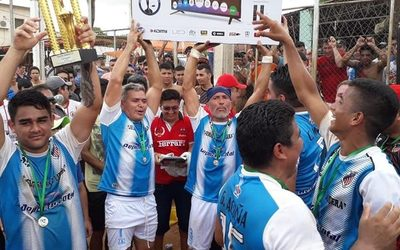 Pabellón Cristiano es campeón de torneo en Penitenciaría