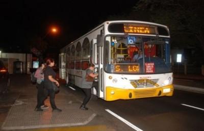 Lanzan plan piloto sobre buses en horario nocturno en principales corredores del Área Metropolitana