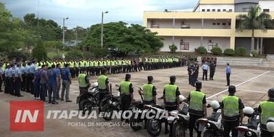 POLICÍA EN ALERTA ANTE EL INMINENTE COBRO DE AGUINALDO.