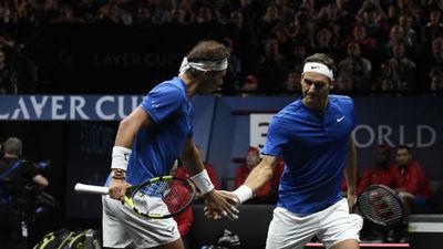 Federer y Nadal juntos en la Laver Cup 2019
