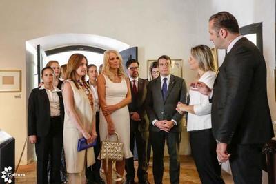 Primera Dama de Montenegro visitó la Casa de la Independencia
