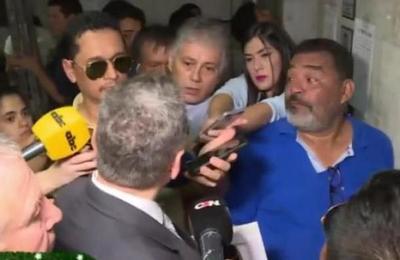 Incidentes se registran en el Palacio de Justicia