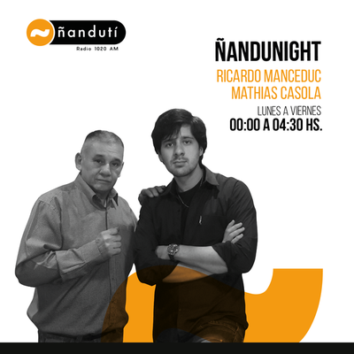 Ñandu Night, con Matías Casola y Ricardo Mancedú