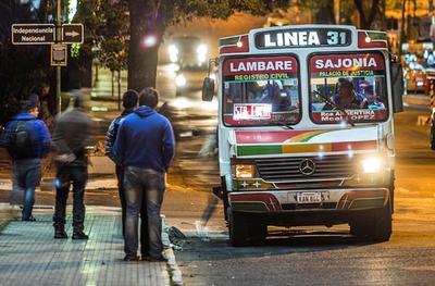 Buses nocturnos desde el lunes