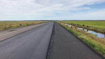 Concluye asfaltado del tramo Caazapá –Yuty de la ruta VIII