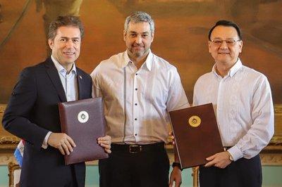 Gobierno de Taiwán oficializa donación de US$ 150 millones al Paraguay