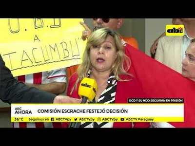 Comisión escrache festejó decisión