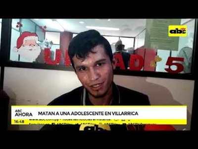 Matan a una adolescente en Villa Rica