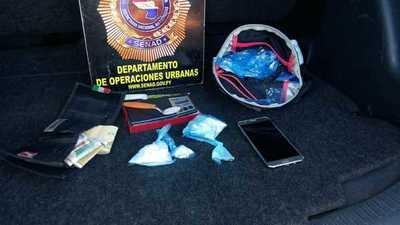 SENAD detiene a delivery de cocaína en Lambaré