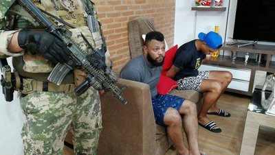 Senad captura a supuesto narco brasileño en Asunción