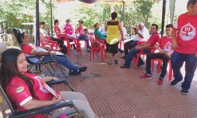 Activistas realizaron campaña de donación de sangre