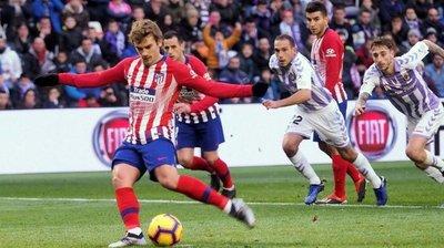 Atlético Madrid gana 3-2 al Valladolid