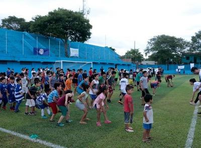 Niños de la Chacarita disfrutaron de jornadas recreativas