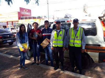 Realizan campaña de educación vial en Caaguazú – Prensa 5