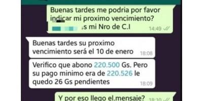 """EMPRESA RECLAMA DEUDA DE """"6"""" GUARANÍES Y LAS REDES ESTALLAN"""