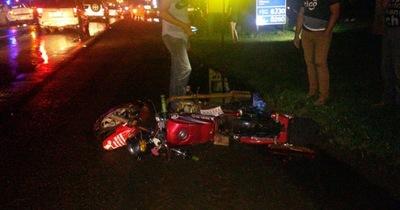 Dos jóvenes motociclistas fallecen en percance rutero en Minga Guazú