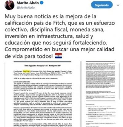 """Gobierno de Marito se """"sirve"""" de los logros obtenidos por HC"""