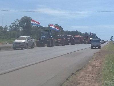 Tractorazo en Campo 9