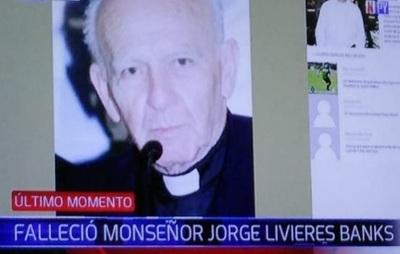 Fallece monseñor Jorge Livieres Banks