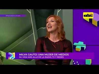 """Entrevista a Milva Gauto: """"sui generis"""" en los medios"""