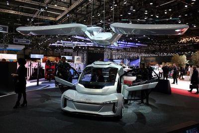Un coche volador que anticipa el futuro del transporte urbano