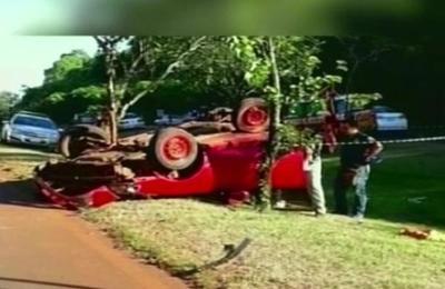 Un trabajador perdió la vida en un trágico accidente de tránsito