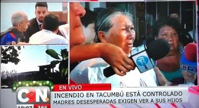 Principio de incendio en Tacumbú deja un herido