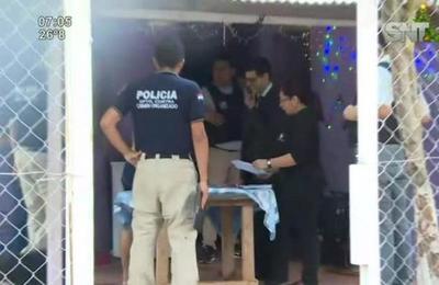 Realizan allanamiento por robo al Colegio San Ignacio Loyola