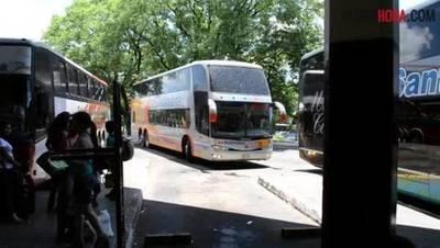 Liberan horario de buses para fiestas de fin de año