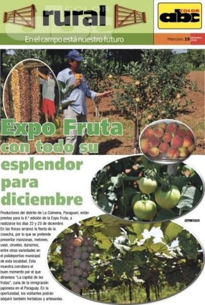 Expo Fruta con todo su esplendor para diciembre