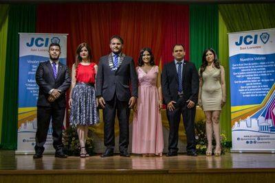 JCI San Lorenzo: Hubo transmisión de mando