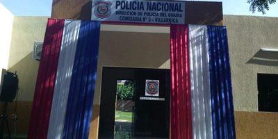 Inauguraron local de la Comisaría Tercera Centro de Villarrica