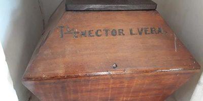 Traen restos de Hector L. Vera a Ybytymi