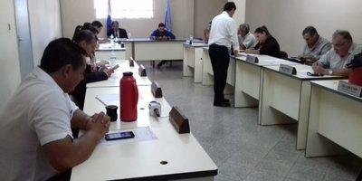 Ultima sesión de la Junta Departamental de Guairá se realizó esta mañana