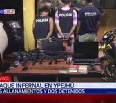 Ataque en Ypejhú: Caen los primeros sospechosos