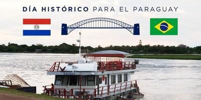 PARAGUAY Y BRASIL SUSCRIBEN HOY ACUERDO PARA LA CONSTRUCCIÓN DE DOS PUENTES