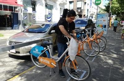Sepa las instrucciones para utilizar las bicicletas gratuitas en Asunción