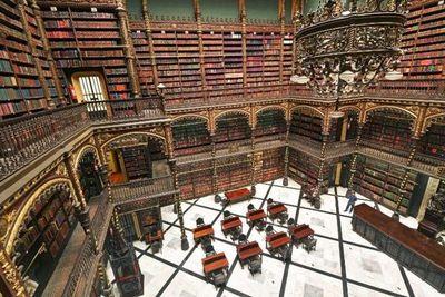 Una biblioteca al estilo Harry Potter en Río de Janeiro