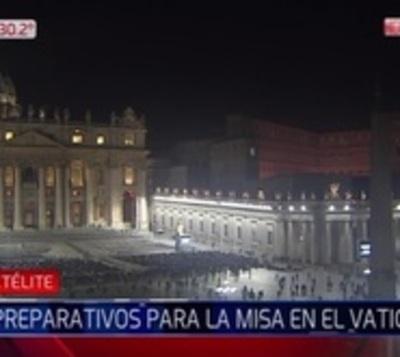 Pesebre de arena maravilla a fieles de Vaticano