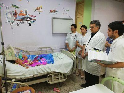 Alto número de niños con infecciones gastrointestinales y respiratorias