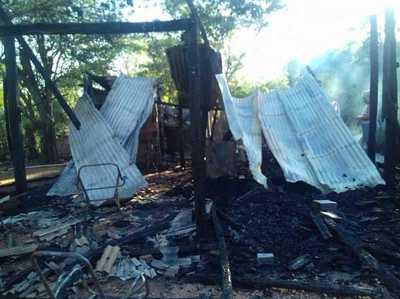 Mujer que sufrió quemaduras durante incendio evoluciona muy bien y sueña con reconstruir su casita