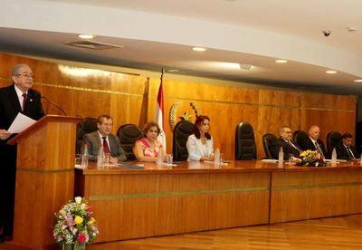 Presidente de la Corte presentó Informe de Gestión 2018