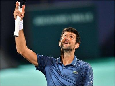 Djokovic buscará su cuarto título en Abu Dabi