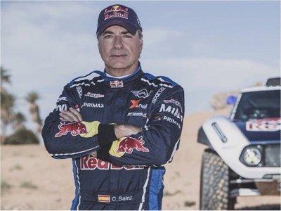 Para Sainz, el Dakar será complicado