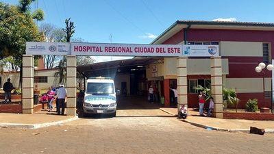Accidentes de tránsito encabezan atenciones en Hospital Regional de CDE